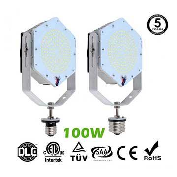 100W LED Retrofit Kits for 350W Metal Halide Fixtures 14,400Lm Parking Lot Lighting Retrofit
