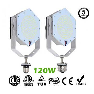 120W LED Retrofit Kits for 400W Metal Halide Fixtures 15,600Lm Parking Lot Lighting Retrofit