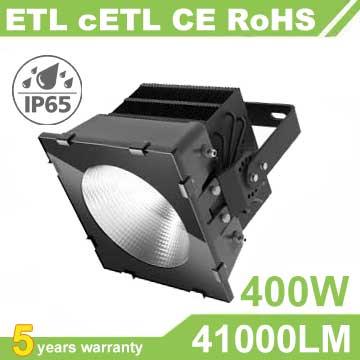 400W LED Stadium Light,High mast Light,105Lm/W,41000LM,IP66 Waterproof