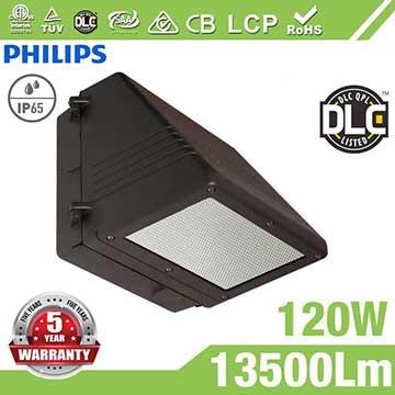 120W Full Cut-off LED Wall Pack Lights,,13500 Lumens,IP65 waterproof