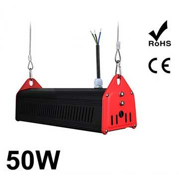 50W LED Linear High Bay Light 6350Lm CE RoHS