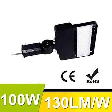100W CE RoHS LED park road Light Fixtures 130Lm/W 13000Lm