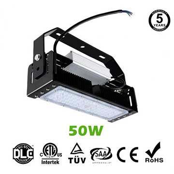 50W LED Flat High Bay Light 6000 Lumen Equivalent 125W HID/Metal Halide Light