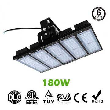 180W LED Flat High Bay Light 24000 Lumen Equivalent 450W HID/Metal Halide Light