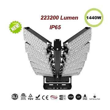 LED Large Stadium Lights - LED  Sports high mast Lighting 1440W-223200 Lumen