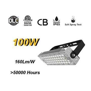 100W LED High Mast Light,Rotatable Module,160Lm/W,16000 Lumen,IP65,Stadium Light,Sports Lighting,Flood Lighting