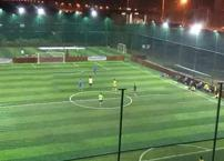 What factors should be considered for professional soccer field lighting?