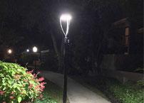 LED light fixtures for landscape lighting advantages