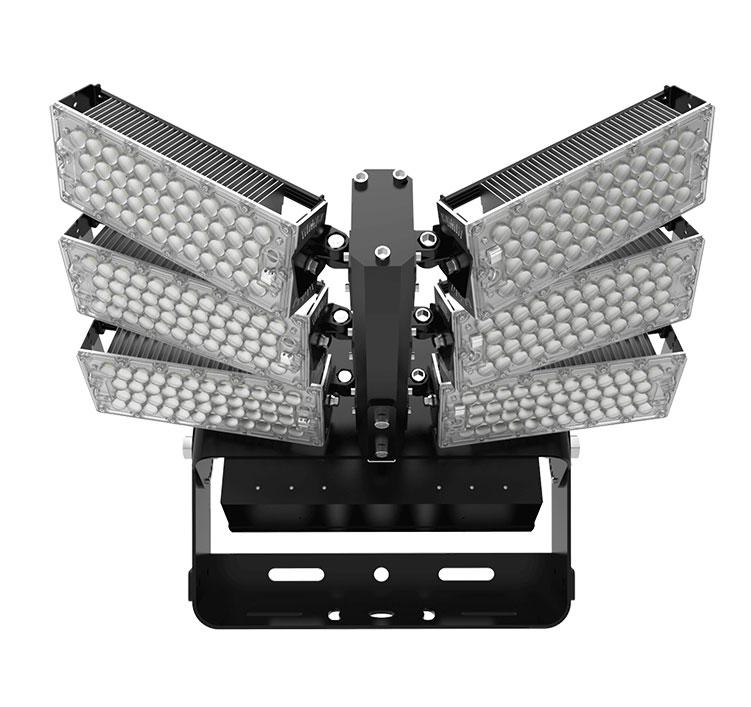 600W LED High Mast Flood Light,160Lm/W Sports Lighting