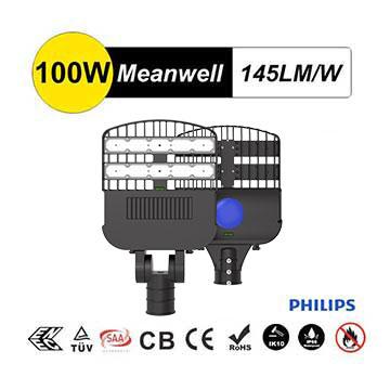 100w AC85-265V LED Street Pole Light | Street Light Upgrade Project Product