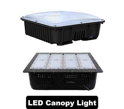 DLC LED Canopy Light Fixtures