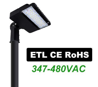 ETL LED Shoebox Lights