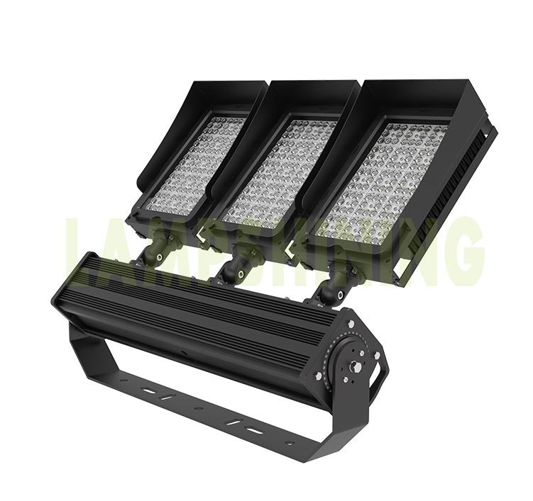 720W 900W Lightweight Indoor outdoor Stadium LED Light, Sport Field Uniform Flood Lighting