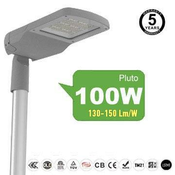 100w smd led street lights, 5 years warranty secondary roads Security Lighting