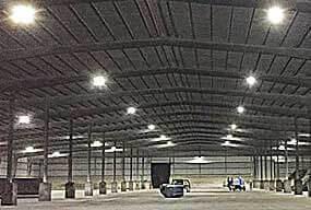 Customer Feedback -150W UFO LED High Bay Light actual effect