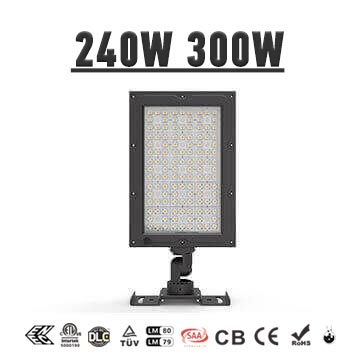 240W 300W High Efficient 150LM/W LED Stadium Area Lighting - Outdoor, Indoor LED Flood Lights