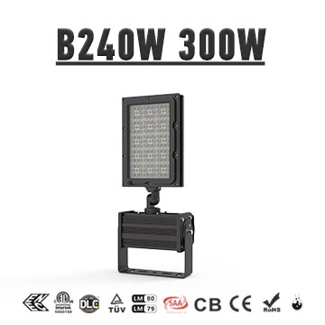 150LM/W Golf Course LED Lighting Fixtures, 240W 300W Lightning Protection Golf Field Flood Lights