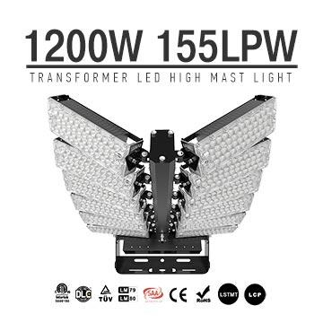 1200W High Pole Lights - LED High Mast Lighting - 186000 Lumen