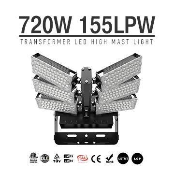 720W LED High Mast Light, High Pole Light with Rotatable Module
