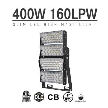 400W LED High Mast Light,Rotatable Module,160Lm/W,64000 Lumen,IP65,Stadium Light,Sports Lighting,Flood Lighting