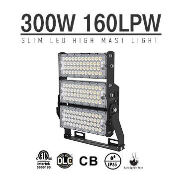 LED stadium high mast Light - 300w waterproof high pole lighting
