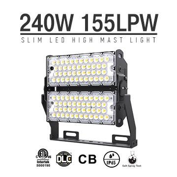 LED Stadium high mast Lighting Experts 240w,37800 Lumens for sale