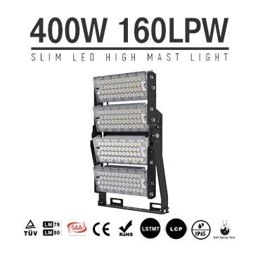 400W-A TUV CE LED High Mast Light,Rotatable Module,160Lm/W,64000 Lumen,IP65,Stadium Light,Sports Lighting,Flood Lighting