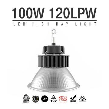 100W Round LED High Bay Light,12000 Lumens