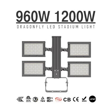 Port LED Flood Lights 960W 1200W 155-165LM/W,  Best Terminal Harbour, seaport, wharf LED Lighting Fixtures