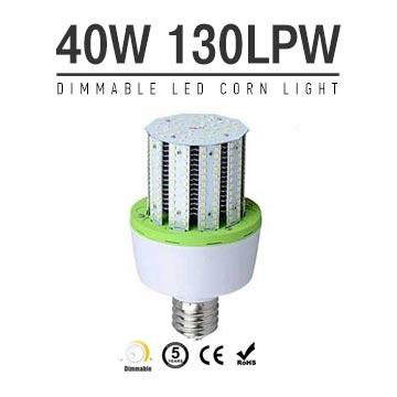 40W Dimmable LED Corn Bulbs 5200Lm Equal 150W HID