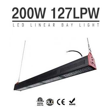 200W LED Linear High Bay Light 32000Lm TUV CE RoHS ETL DLC
