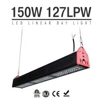 150W LED Linear High Bay Light 19000Lm CE RoHS ETL DLC