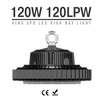 120W UFO LED High Bay Light 120Lm/W 14400 Lumen CE RoHS