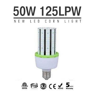 50W LED Corn Bulbs 6250Lm Equal 175W HID