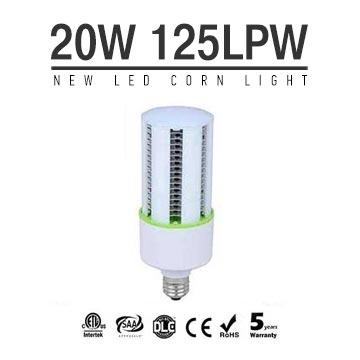 NEW 20W LED Corn Bulbs 2500Lm 125Lm/W Equal 75W HID