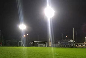 400W LED High Mast Light for Soccer Field - Customer Feedback