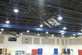 180W LED High Bay Light for Basketball Court - Customer Feedback