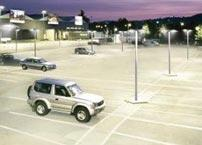 Why is LED lighting the best choice for outdoor parking lot?