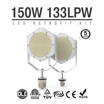 150W 130LM/W LED Retrofit Kits-Flood Light, High Bay, Post top, Cobra head LED Retrofit