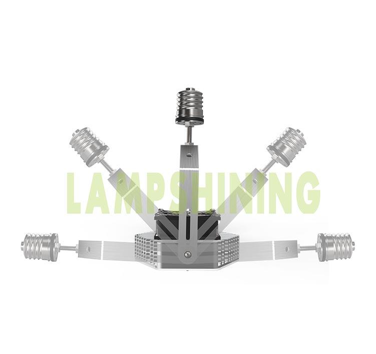 45W LED Retrofit Kits for 125W Metal Halide Fixtures 6,480Lm Parking Lot Lighting Retrofit