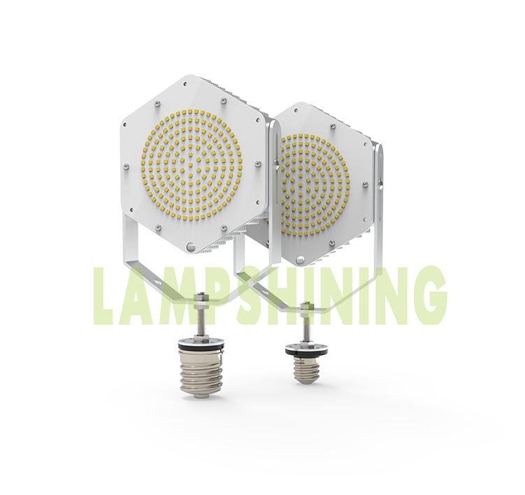 100W E40 E39 E27 E26 Base LED Retrofit Kit Lights for Shoebox, Wall pack, Cobra head Street fixtures