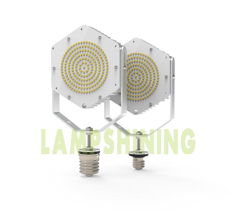 120W LED Retrofit Kits for 400W Metal Halide Fixtures 16,800Lm Parking Lot Lighting Retrofit