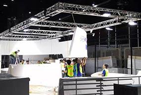 240W 6500K LED High Mast Lights for Stage, exhibition lighting - Customer Feedback