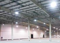 Why does warehouse lighting replace HPS lamps with LED lamps?