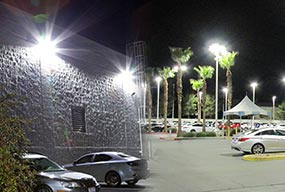 150W Commercial outdoor parking lot and wall pack led retrofit
