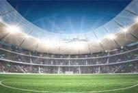 Why is the stadium lighting replaced with LED light?