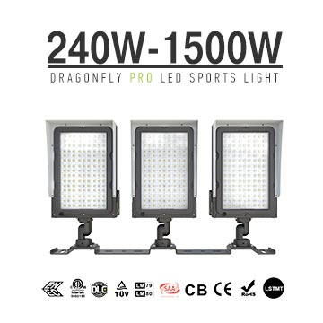 240-1500W LED Sports Flood Light-Outdoor Sports Pitch Lighting Retrofit Fixtures wholesale