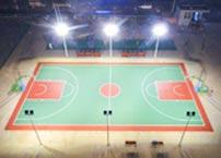 Why do sports fields use high-efficiency LED lighting?