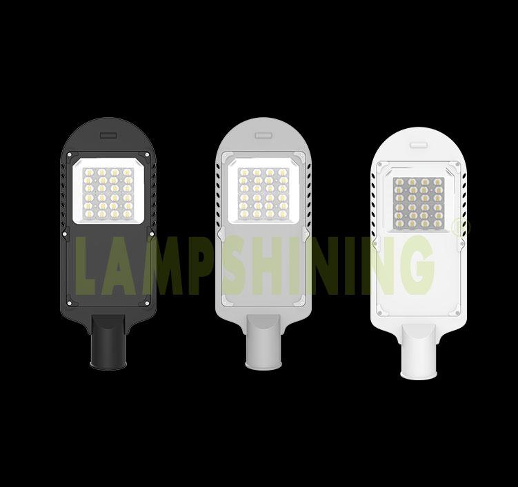 50W LED Street Light with Tempered Glass, Alley Village Street Light Retrofit