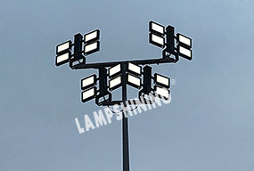 Case of 1200W Dragonfly LED Sports Light for Soccer Field